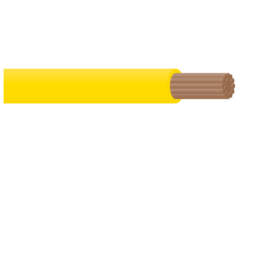 CABLE SINGLE CORE YELLOW 3MM 10AMP (1 METRE)