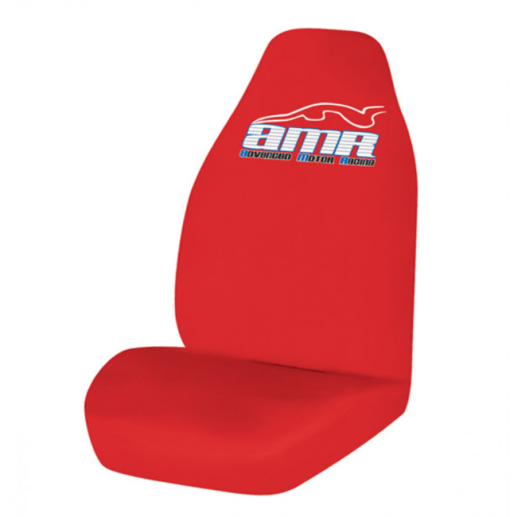 Seat Cover World AMR Throwover Seat Covers - Size 60/25 - Red