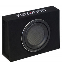 "Kenwood 10"" 500W Subwoofer In Slimline Enclosure"