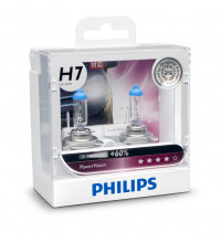 Philips H7 PowerVision +60% 12V 55W Globe