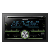 Pioneer 200W Double Din Bluetooth CD Receiver FHS705BT