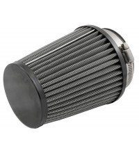 "TFI Racing Conical Filter 4"" Long 3"" Id Neck End Cap Black"