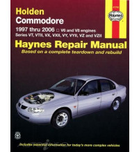 Haynes Manual- Holden Commodore 1997-2006 (41743)