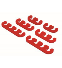 SPECTRE Wire Dividers Deluxe Red, Suit 6-8mm Igntion Wires