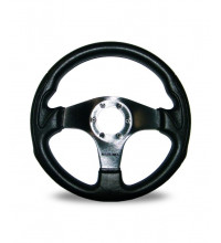 Autotecnica Formula Steering Wheel, 350mm, 3 Spoke Black