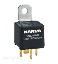 12V 30A20A CHANGE-OVER 5 PIN RELAY REVERSE PIN WITH RESISTOR BLISTER PACK OF 1