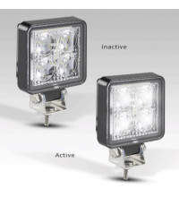 LED AUTOLAMPS LED WORK REVERSE LIGHT 9-30V 12W