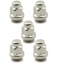 Saas Lock Nuts Conical 12mm X 1.5mm 5Pack