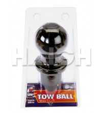 Cargo Mate Tow Ball 50Mm 2500Kg Black Chrome