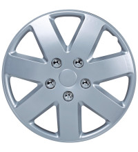 "Streetwize Sicily Series 14"" Silver Wheel Covers"