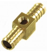 TFI Racing Performance Connections: Brass Fitting Fuel Pressure Gauge 3/8IN SP53196