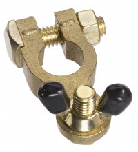 PROJECTA BRASS BATTERY TERMINAL - NEGATIVE WINGNUT