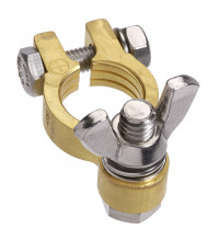 PROJECTA FORGED BRASS BATTERY TERMINAL - POSITIVE