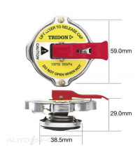 Tridon Radiator Cap - Safety Lever SP120932