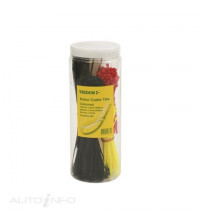 TRIDON CABLE TIE ASSORTED 500PC