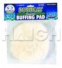 "Bubbles Buffing Pad 5"" Sheepskin"