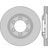 Protex Front Rotor SP59918