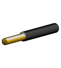 Narva Cable Single Core 5mm 25A Black (1 metre)