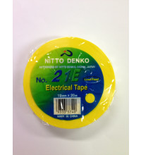Nitto Denko NITTO Tape Yellow 21E 19X20