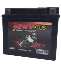 REVPLUS MOTORCYCLE BATTERY 12V STX5L-BS