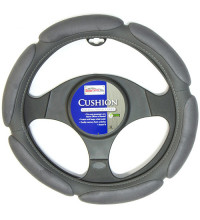Streetwize Cushion Steering Wheel Cover Charcoal