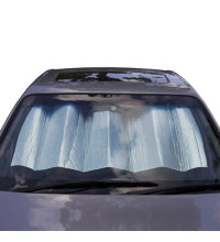 Streetwize Front Sunshade Bubble Silver 130X60Cm