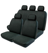 Streetwize Seat Cover Mesh 30/50/06 Airbag Black
