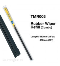TRIDON WIPER RUBBER COMBO 24IN & 18IN