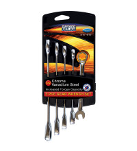 Garage Tuff 5 Pce Reverse Drive Spanner Set Imperial