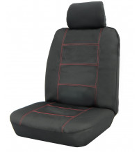 Wet N Wild 30/50 Safe Black/Red Seat Cover
