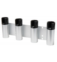 REMOVABLE ALUMINIUM BULL BAR ROD HOLDER