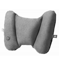 C) VIBRATING MASSAGE BACK CUSHION