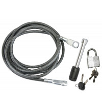 3.6M LOCKING CABLE AND HITCH PIN