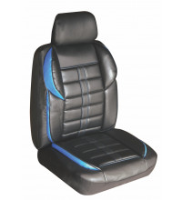 Altitude Leather Look Seat Covers Black/Blue