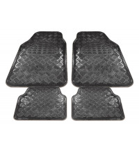 Streetwize Kentucky Floor Mats Carbon Chrome Set of 4