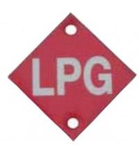 TFI Racing LPG TAG METAL 2 PER CARD