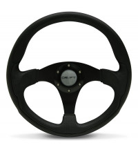 Drift Steering Wheel Black 350mm Flat