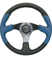 Drift Steering Wheel Black 350mm Round