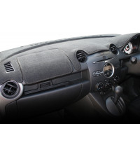 Sunland Dash Mat Mazda 2 Black 9/07 To Current
