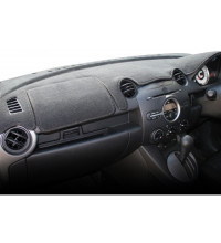 Sunland Dash Mat - Suitable For Toyota Hilux 03/15 -on Black