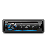 PIONEER DEHS4150BT RECEIVER WITH SMART SYNC APP SUPPORT, DUAL BLUETOOTH, SPOTIFY CONNECT, SIRI EYES FREE & USB