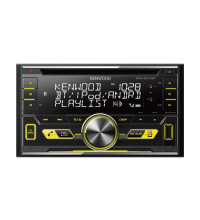 Kenwood Dual Din USB/CD Receiver High Voltage 4.0V 3-Preouts DPX-5100BT