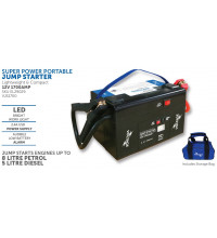 Voltage Super Power Portable Jump Starter 12V 1200AMP