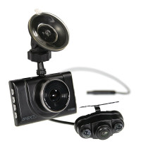 Gator Full HD Dash Cam with Front & Rear Recording Cameras