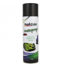 Duplicolor Panel Spray Gloss Black 350G