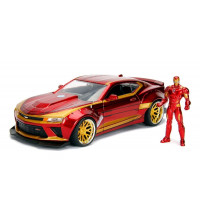 1:24 IRONMAN WITH 2016 CHEVY CAMARO MOVIE HOLLYWOOD RIDES