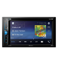 PIONEER AVH-A205BT TOUCH-SCREEN MULTIMEDIA PLAYER WITH BLUETOOTH, IPOD/IPHONE, USB & AUX-IN