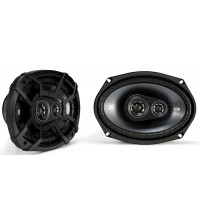 "Kicker CS Series 6""x9"" Triaxial (Three-way) Speakers"