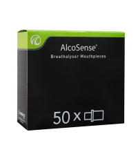 Mouthpieces for all AlcoSense Breathalysers - 50 pieces