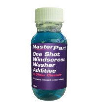 Masterpart One Shot Windscreen Washer Additive & Glass Cleaner 50ML